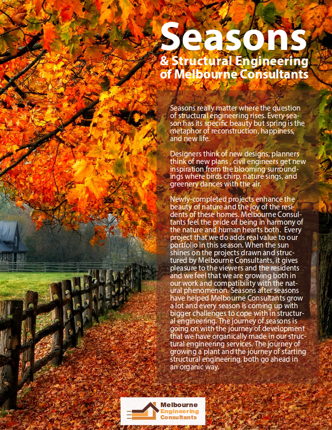 Seasons & Structural Engineering of Melbourne Consultants